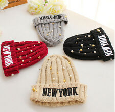 Fashion  New Winter Beanies Hat Letter knit wool cap Beanie Knit Cap Hats