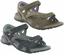 New Womens Hi-Tec Galicia Neoprene Lining Velcro Sports Walking Sandals Size 4-8