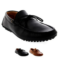 Mens H By Hudson Felipe Leather Slip On Smart Moccasin Work Office Shoes UK 6-12