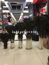 Brand new 10-200pcs natural 10-40inches/25-100cm peacock feather eye decoration