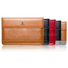 New Genuine Leather Notebook laptop Sleeve Case Bag For MacBook Pro/Air 11 13""