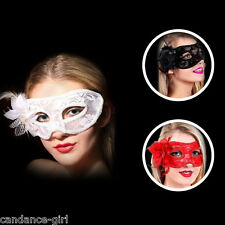Lace Halloween Masquerade Party Performance Lily Flower Eye Mask Fancy Dress