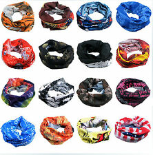 Unisex Skull Neck Warmer Sport Scarf Multi Purpose Head Face Mask Snood Bandana