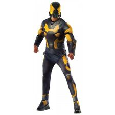 Yellow Jacket Costume Adult Ant-Man Halloween Fancy Dress