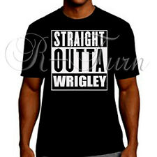 Chicago Cubs Straight Outta Wrigley Playoff  T-Shirt T Shirt Tee