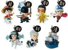 Bandai One Piece 6 Phone Strap Log Memories 06 Marine Navy Figure