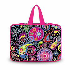 "Arts Style Laptop Case Sleeve Cover Handle Bag For RCA 11"" Maven Pro Tablet PC"