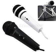 Stand Type Audio Studio Microphone Condenser Mic For Desktop PC Recording Vocals