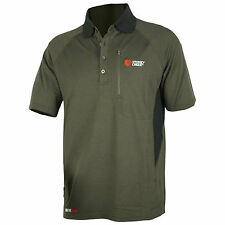 Stoney Creek Quick Dry Mens Polo Bayleaf/Black, Hunting Clothing, Code:1233