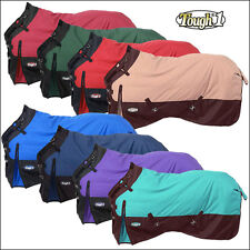 TOUGH-1 1200D WATERPROOF POLY TURNOUT HORSE WINTER BLANKET ADJUST SNUGGIT NECK