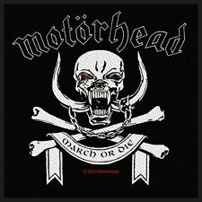 Motorhead March Die Patch - NEW & OFFICIAL