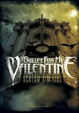 Bullet For My Valentine Scream Aim Fire BFMV Textile Flag