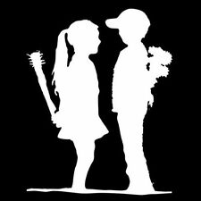 BANKSY BOY MEETS GIRL (stencil canvas print poster rare punk love date) T-SHIRT