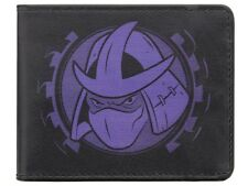 Teenage Mutant Ninja Turtles Team Bad Guys Black TMNT Wallet