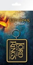Lord of the Rings Logo LotR Keyring 7.5x15cm