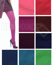 NEW IN PKG!  WOMEN'S HUE OPAQUE TIGHTS #U4689 - VARIETY OF COLORS & SIZES!!