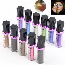 Hot Shimmer Glitter Pigment Eyeshadow Powder Single Roller Eye Shadow Makeup