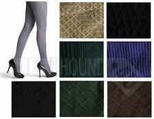 NEW IN PKG!  WOMEN'S HUE TEXTURED TIGHTS - VARIETY OF PATTERNS, COLORS & SIZES!!