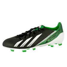 ADIDAS F50 ADIZERO TRX FG STUDDED FOOTBALL SHOE BLACK WHITE GREEN G65308