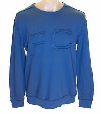 Bnwt Mens Authentic French Connection Sweatshirt Jumper Blue