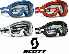 2014 SCOTT MX RECOIL XI PRO MOTOCROSS GOGGLES solid enduro bike mtb tear off new