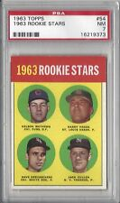 1963 Topps baseball card #54 Dave DeBusschere, Chicago White Sox PSA 7 NM ROOKIE