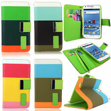 For Samsung Galaxy S2 II T989 T-Mobile Leather Wallet Card Slot Flip Stand Case