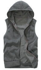 Vest Women 2015 Hooded Warm Sleeveless Casual Jackets Outwear with Pocket