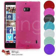 TPU Silicone Liner Gel Case Cover For Nokia Lumia 930