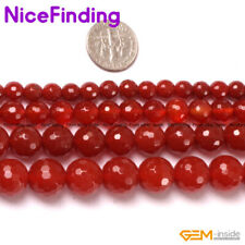 Wholesale Round Agate Stone Beads For Jewelry Making Gemstone Beads Lot 15'' DIY