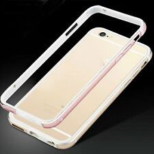Ultra Thin Aluminum Metal Silicone Bumper Frame Case Cover for iPhone 6 6s Plus