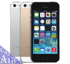 Apple iPhone 5S - 16GB 32GB 64GB - AT&T - Gray - Gold - Silver - Good Condition