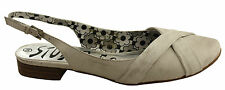 STUDIO 56 TINT WOMENS/LADIES LEATHER COMFY FASHION SANDALS/SHOES/FLATS/LOW HEELS