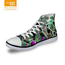 New Fashion Womens Girls High Top Shoes Sneakers Flat Classic Lady Canvas Shoes