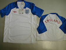 England Training Jersey WM 2010 Orig Umbro Sz S M L XL XXL white