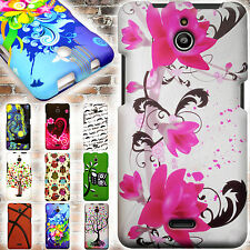 Protective Hard Snap On Colorful Design Phone Cover Case for Huawei Ascend Plus