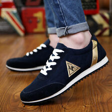 New Mens Fashion Breathable Sneakers Sport Casual Athletic England Boat Shoes