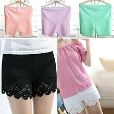 New Pregnant Lady Safety Shorts Maternity Elastic Waist Short Trousers Hot Pants