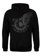 Foo Fighters Wings Men's Black Hoodie