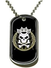 Five Finger Death Punch Knuckle Crown Dog Tag - NEW & OFFICIAL