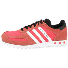 ADIDAS LA TRAINER K ORIGINALS TRAINERS SHOES S82616 FLASH RED WHITE GREY ZX750