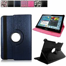 For Samsung Galaxy Tab 2 10.1'' P5100 P5110 Leather Rotating Flip Stand New Case