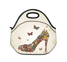 X'mas Gift Stiletto Insulated Lunch Tote Picnic Cooler Bag with Zip & Handles