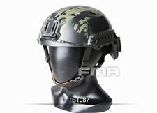 FMA Black Multicam Tactical Protective Base Helmet for airsoft paintball