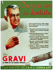 77. Art Decoration POSTER.Graphics to decorate home office.Gravi toothpaste Ad.