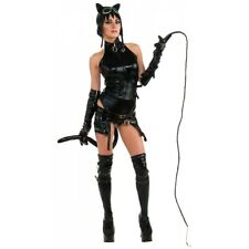 Anime Catwoman Costume Adult Sexy Cat Woman Gothic Cosplay Halloween Fancy Dress