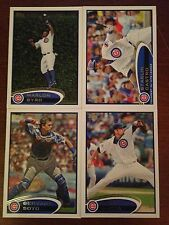 Chicago Cubs 2012 Topps Team Set Series 1 2 & Update 31 Cards