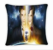 Dr Doctor Who Tardis 11 Doctors Throw Pillow Cushion Case Cover Home Decor