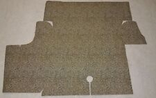 1969 1970 FORD MUSTANG BURTEX TRUNK MAT LINER SPATTER PLAID COUPE FASTBACK CONV.
