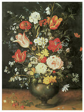 1178.Floral painting wall Art Decoration POSTER.Graphics to decorate home office